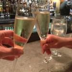 Champagne moment - Rebecca